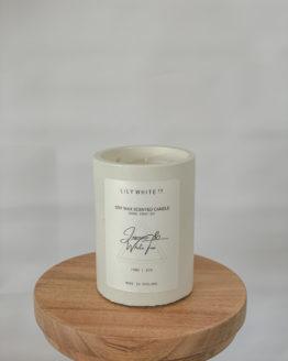 Jasmine and White Tea 150g Lily White Co