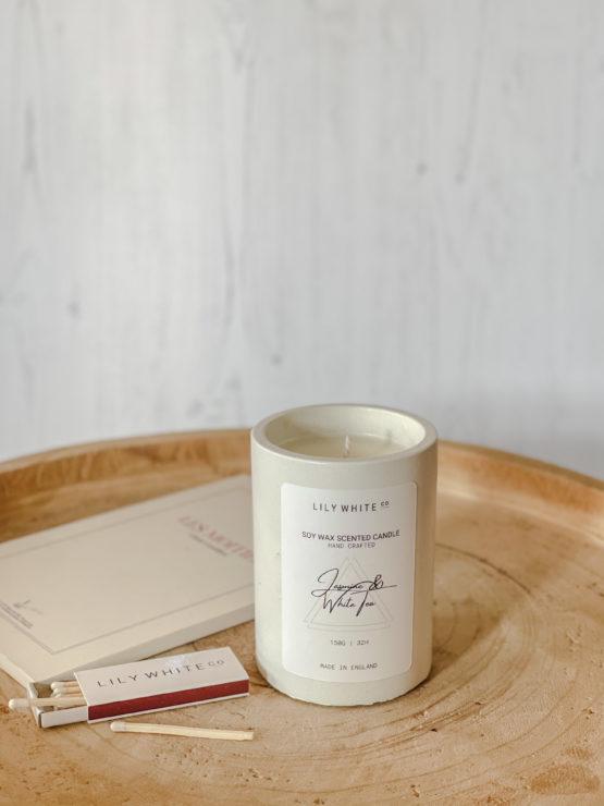 Lily White Co. Jasmine & White Tea 150G