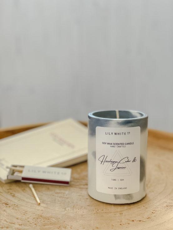 Lily White Co. Himalayan Cedar & Jasmine 150G