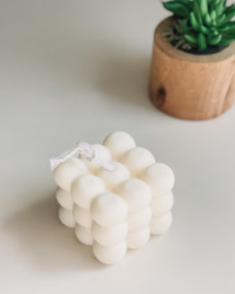 Lily White Co. Bubble Candle
