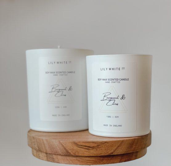 LWC Signature candle Bergamot & Citrus
