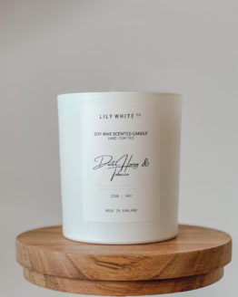 LWC Signature candle Dark Honey & Tobacco 220G