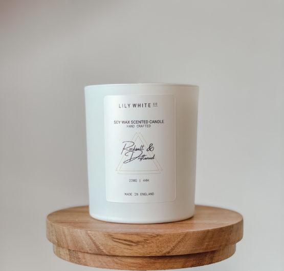 LWC Signature Candle Rocksalt & Driftwood 220G
