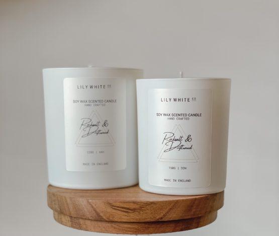 LWC Signature Candle Rocksalt & Driftwood