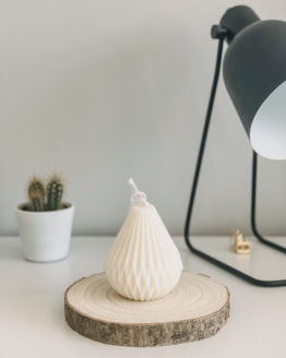 Lily White Co Pear candle