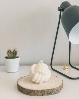 Lily White Co Knot candle